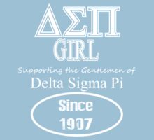 Delta Sigma Pi Girl - Supporter Tee by GREEKTEES