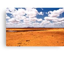 Mars Attack Canvas Print