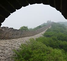 The Great Wall - Mitianyu by Jamie Alexander