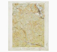 USGS TOPO Map New Hampshire NH Concord 329974 1927 62500 Kids Tee