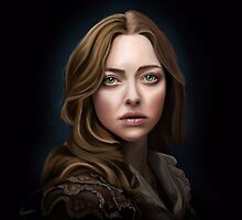 Amanda Seyfried as Cosette - Les Miserables by Richard Eijkenbroek