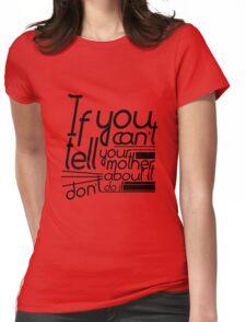 Martha-isms #1 Womens Fitted T-Shirt