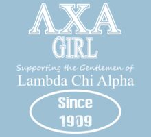 Lambda Chi Alpha - Girl Supporter Tee by GREEKTEES