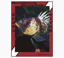 Quillback Rockfish Scuba Diving - shirt Kids Clothes