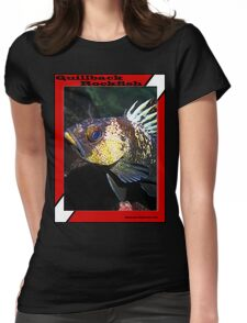 Quillback Rockfish Scuba Diving - shirt Womens Fitted T-Shirt