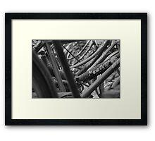 Beijing black and white  Framed Print