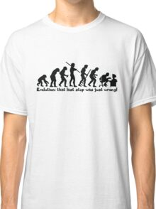Technology Evolution Classic T-Shirt