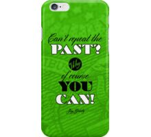 Repeat the Past (The Great Gatsby) - Quote Series  iPhone Case/Skin