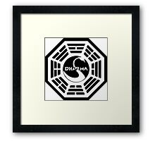 Lost Dharma Station Framed Print