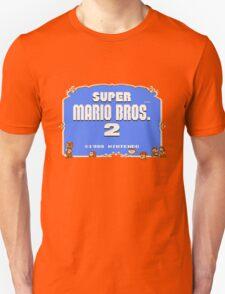 Super Mario Bros. 2 Title Screen Unisex T-Shirt