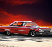 "1963 Ford Galaxie '427"" by DaveKoontz"