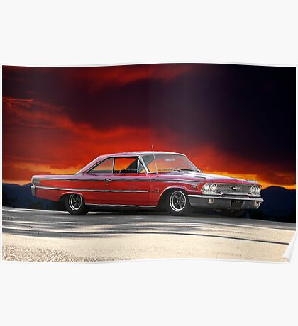 """1963 Ford Galaxie '427"""" Poster"""