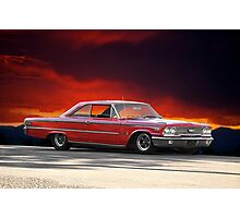 "1963 Ford Galaxie '427"" Photographic Print"