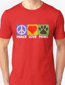 Peace Love Paws T-Shirt