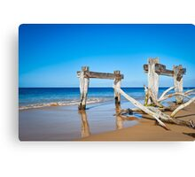 Quarantine Jetty Canvas Print