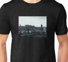 Edinburgh Skyline. Unisex T-Shirt