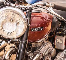Ariel Motorcycle by Deborah McGrath