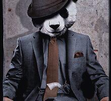 Gangster Panda by Malpihvost