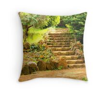 the scale Throw Pillow