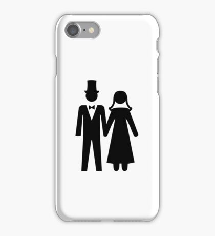 Bride and Groom iPhone Case/Skin