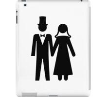 Bride and Groom iPad Case/Skin