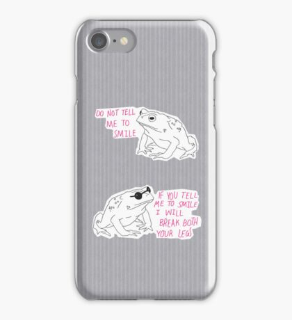 Sassy Toad iPhone Case/Skin