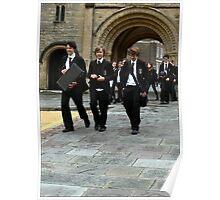 Boys in Black Poster