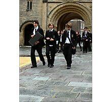 Boys in Black Photographic Print