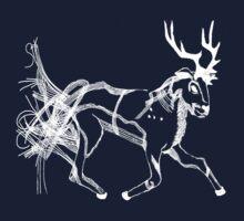 White Stag by JackofallTrades
