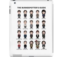 The Burkespotter's Guide (poster/card/notebook) iPad Case/Skin