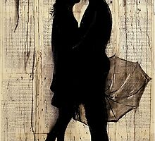 rainy day love story by Loui  Jover