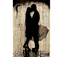 rainy day love story Photographic Print