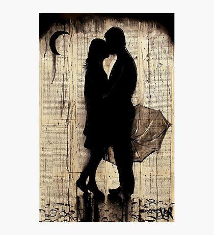 rainy day love story Photographic Print