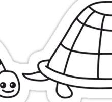 Cute Turtle Family Sticker
