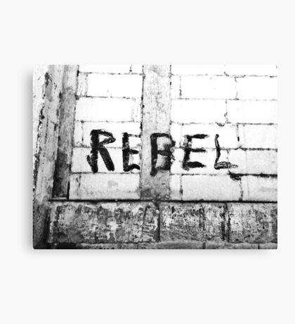 Rebel - Chiara Conte Canvas Print
