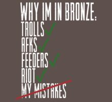 Why Im in Bronze Colors by ClutchDizzy