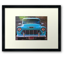 Classic Chevy Framed Print