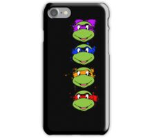 TMNT Paint Splatter iPhone Case/Skin