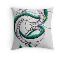 Haku & Chihiro Throw Pillow