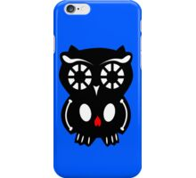 Skull Owl/ blue iPhone Case/Skin
