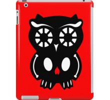 Skull Owl/ red iPad Case/Skin