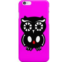Skull Owl/ pink iPhone Case/Skin