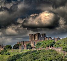 Storm clouds over Dover by larry flewers