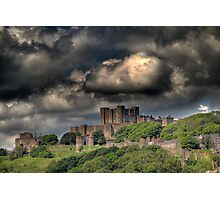 Storm clouds over Dover Photographic Print