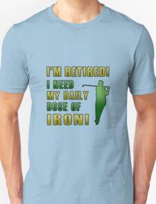 Retired Golf Humor T-Shirt