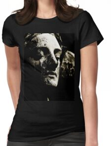 sadness in stone Womens Fitted T-Shirt