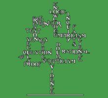 Free Thinker Tree (white) by Tai's Tees Kids Tee
