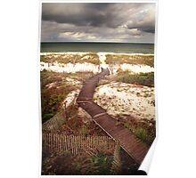 Cape San Blas Dunes Poster