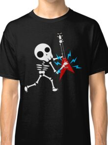 Guitar Skeleton Classic T-Shirt