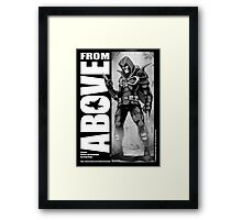 From Above Comic Book Framed Print